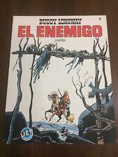 BUDDY LONGWAY - EL ENEMIGO - COMIC BOOK - JET BRUGUERA 7 - DERIB - 1983 - SPAIN