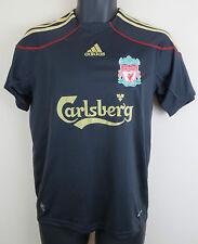 Adidas 09-10 Liverpool Football Shirt Soccer Jersey Camiseta Skjorte 13-14 LB L