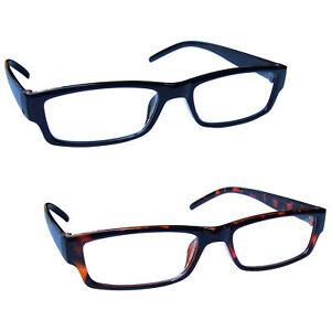 Value 2 Packs Reading Glasses Mens Womens Lightweight UV Reader UVR2PK32