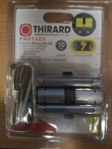 THIRARD PROTECT NIVEAU 7 CYLINDRE 60mm 10CLES ET CARTE