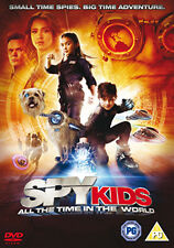 SPY KIDS 4 - ALL THE TIME IN THE WORLD - DVD - REGION 2 UK