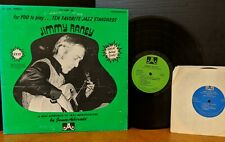 """JIMMY RANEY FOR YOU TO PLAY - 10 FAVORITE JAZZ STANDARDS VOL 20 with 7"""" LP & 45!"""