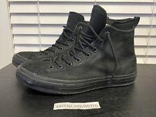 Converse CTAS WP Boot HI - Waterproof Leather Lunarlon Black 11.5 162409C RARE