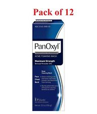 PanOxyl Acne Foaming Wash Max Strength 10% Benzoyl Peroxide 5.5 oz (Pack of 12)