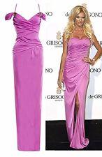 Roberto Cavalli LAVENDER  STRETCH DRESS GOWN IT size 40