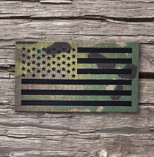 "Standard Infrared reflective Multicam IR US Flag Patch 3.5x2"" Special Forces"