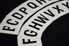 Alphabet Letters A-Z SET x130 Plastic Letters / Church / Shop / Hotel Signage