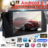 9'' Android 8.1 bluetooth Quad Core GPS Stereo Radio Wifi For BMW E38 E39 E53 X5