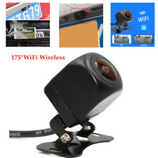 175°WiFi Wireless Car Van Rear View Cam Backup Reverse Camera iPhone Android IOS