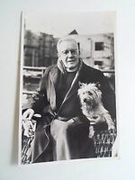 """Vintage Real Photo Postcard Chippie The Cairn Dog Son of """"Splinters of Balmoral"""""""