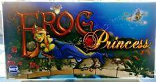 FROG PRINCESS Slot Machine Casino Topper Insert, Glass