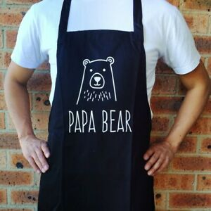 Papa Bear Apron - Free Shipping - Novelty Aprons