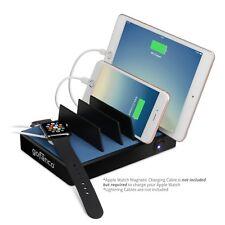 gofanco EdgeS 5-Port USB Charging Station Stand Organizer 2.4A  - Black or White
