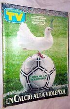 TV Sorrisi e Canzoni n.25/1989 con 2 allegati centrali Calendario serie A e B