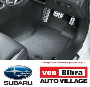 Brand New Genuine Subaru Forester 2013-2018 Rubber Mat Set Front & Rear