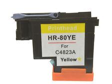 HP 80 Yellow Printhead & Cleaner C4823A HP Designjet Printers 1050c 1055cm Plus