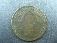 UC-6A7 Halfpenny 1816 Isaac Brock token Upper Canada Breton 724