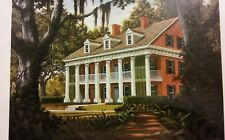 VINTAGE-THE SHADOWS PLANTATION Signed Numbered Print Nell Buckley. NUMBER 11/500