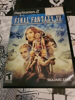 Final Fantasy XII (Sony PlayStation 2, 2006) PS2 Video Game Complete
