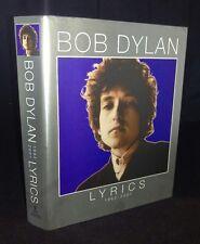 Lyrics: 1962-2001 by Bob Dylan (Hardback, 2004)