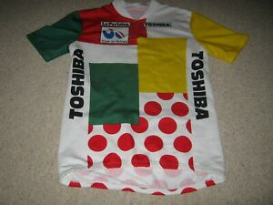 "Tour de France 1980's Combination Italian synthetic cycling jersey [45/46""]"