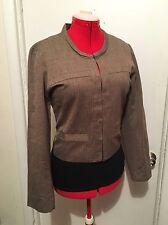 Coldwater Creek 'Feminine Jewel Neck Jacket' Blazer Size Large 14 16 NWT New