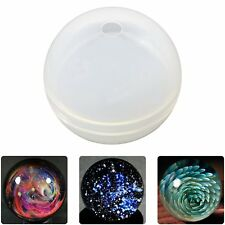 Ball Orb Sphere Paperweight Silicone Mold for Polymer Clay Crafting Resin Epoxy