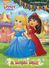 A Royal Ball! (Dora and Friends) (Color Plus 1,000 Stickers), Golden Books