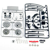 1/10 Plastic Dummy Brake Disc Exhaust Pipe Parts For RC On-Road Racing Model Car