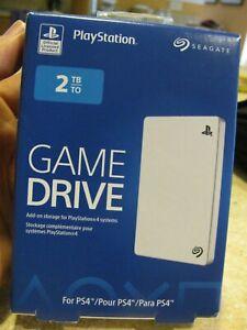 NEW!! Seagate Game Drive 2 TB External (MOD#STGD2000102) Hard Drive SONY PS4 2TB