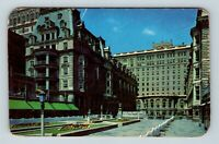 Atlantic City NJ, Hotel Dennis, Boardwalk View, Chrome, New Jersey Postcard