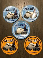 Atlas Air 747 Freighter Stickers