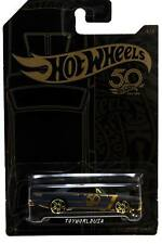 2018 Hot Wheels 50th Anniversary Black and Gold #4 '68 Dodge Dart