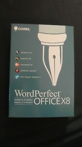 GENUINE Corel WordPerfect Office X8 Home & Student For Windows