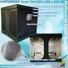 HARVEMAX Hydroponic Grow Tent 2x2x2M Heavy Duty Material And Diamond Mylar Inner