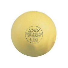 Markwort Lacrosse Balls - Yellow (Ncaa/Nfhs Approved)