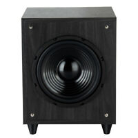8-in 300W Powered Subwoofer Front-Firing Woofer Surround Sound Theater Systems