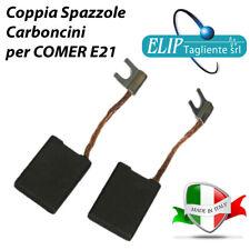 SPAZZOLE CARBONCINI 6.3X16X22 BOSCH USH27 GSH27 ELETTROSEGA COMER E21 E20 E23