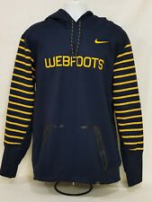 Oregon DUCKS Football TEAM ISSUED Nike Therma-Fit WEBFOOTS HOODIE    Men's  XL