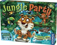 New JUNGLE PARTY Animal Theme BOARDGAME Ages 5+ Memory Game Thames & Kosmos NIB