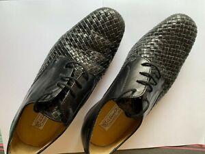 Black leather Werner Kern mens ballroom dance shoes - size 7