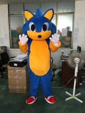 2018 Adult Cosplay Sonic Mascot Costume Sonic The Hedgehog Suit Animal Outfit