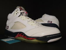 Nike Air Jordan V 5 Retro OLYMPIC INDEPENDENCE DAY WHITE BLUE RED 136027-103 13