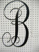 "Metal Letters""B"" 22 inch tall"