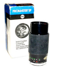 Promaster 80-200mm f/4.5 lens for Olympus with original box