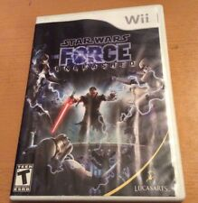 Star Wars Force Unleashed Nintendo Wii Game Case & Manual No Game StarWars