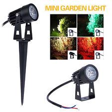 3W Mini Led Path Light Outdoor Lighting Garden Yard Landscape Lamp Floodlight