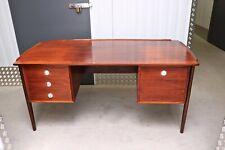 RARE Vintage Rosewood Desk by Dyrlund Schreibtisch 70s 60s MID CENTURY MODERN