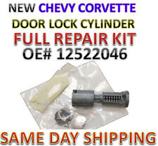 NEW CHEVROLET CORVETTE OEM DOOR SWITCH LOCK CYLINDER FULL REPAIR KIT 1983-1997
