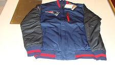 NFL New England Patriots L Reversible Full Zip Jacket Football Logo Pockets